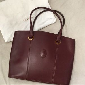 Cartier Leather Tote